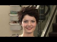 Short Hair Style - Evening Hair
