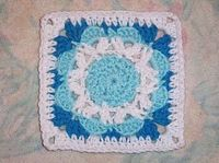 Jubilee Square 6x6 - Free Pattern SmoothFox Crochet and Knit: SmoothFox's