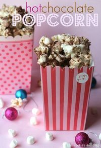 Hot Chocolate Popcorn