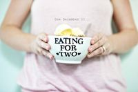 Eating for two #pregnant #pregnancyannouncement