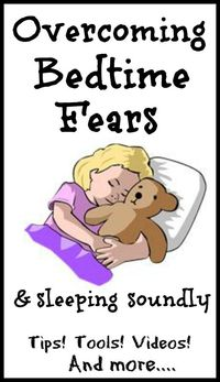 Tips, tools, and resources for helping little ones overcome a fear of the dark, monsters, and other bedtime fears. Includes videos and interactive activities