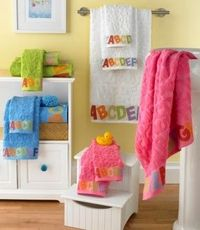 Egyptian cotton baby towels