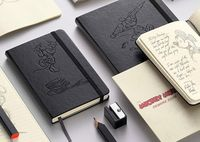 Limited Edition: draw with Mickey Mouse - Moleskine ® #MickeyMouse #Moleskine
