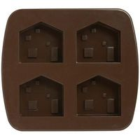 House shaped silicone mold by Muji.
