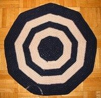 Crochet Kitchen Mat, like Grandma makes