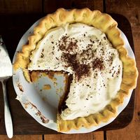 Chocolate-Peanut Butter Pie Recipe - Saveur.com