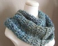 From a Treasury of blue and grey crochet