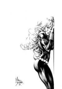Black Widow by Mike Deodato