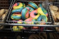 Rainbow bagles