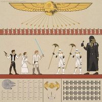 Ancient Egypt knew about Star Wars.