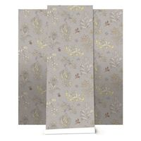 #wallpaper / Paisley in Naples Yellow by www.quercusandco.com