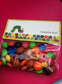 Favor: Caterpillar Food {via Little Housewife}