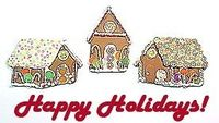 Learn to make little gingerbread houses from polymer clay.