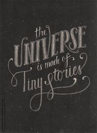 The Universe is Made of Tiny Stories | By Jo Klima / The Darling Tree