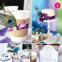 Purple Bridal Shower Ideas