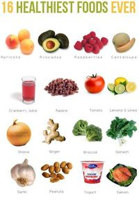 16 Healthy foods healthy-lifestyle