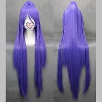 Vocaloid Vocaloid Extra Long 100cm Purple Heat Resistant Fiber Cosplay Wig