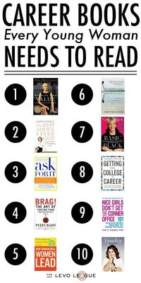 Career books every young woman needs to read