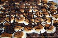 Marshmallow chocolate tray - for one!