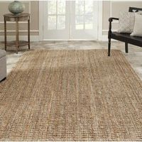 Hand-woven Weaves Natural-colored Fine Sisal Rug (7'6 x 9'6)   Overstock.com
