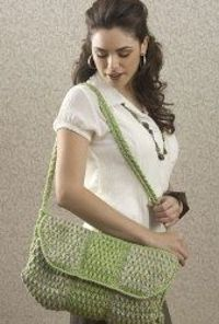 Big Crochet Isle Bag