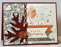 Add Ink and Stamp: French Foliage Thanksgiving