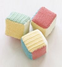 Loom Knit Baby Blocks