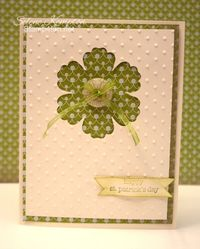St. Patrick's Day Selene Kempton ~ Stampin' Up! Independent Demonstrator