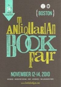 boston antiquarian book fair