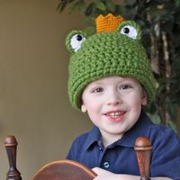 Frog Prince Crown Pattern $5.95