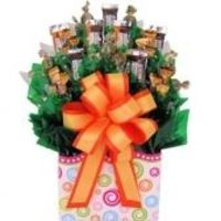 Christmas candy bouquets delviery anywhere to USA. Choose from a beautiful collection.