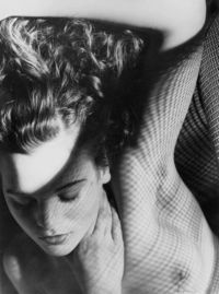Jean through Wire Mesh photo by Max Dupain, 1936