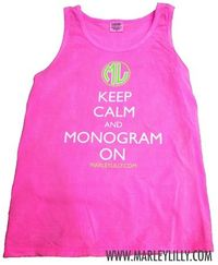 $15.99 Marley Lilly Promo Tank