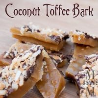 Coconut Toffee Bark by M Double M