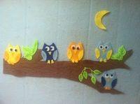 Owl Felt Story