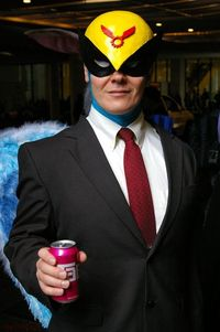 Harvey Birdman cosplay