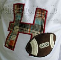 Football appl shirt