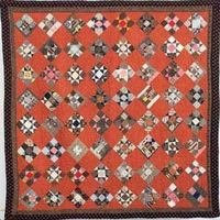 Scrappy Stars, circa 1880. Part of the collection of the York County Heritage Trust in York, Pennsylvania. Free vintage quilt pattern from McCall's Quilting.