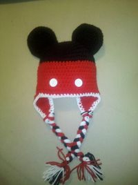 Mickey Mouse Hat. $18.00, via Etsy. For my nephew for Christmas. Best. Auntie. EVER!