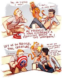 Avengers + Hangover = Magnificent.