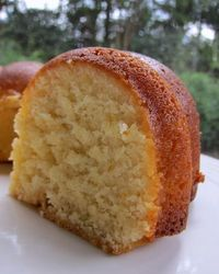 Recipe is From 1920's- The Best Lemon Pound Cake - Delicious !!