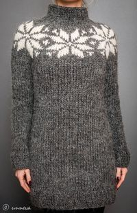 Icelandic Lopi Sweater, via Etsy.