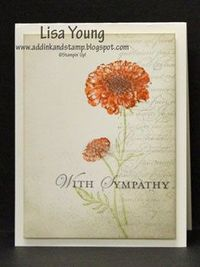 Add Ink and Stamp: Field Flower in Smokey Background