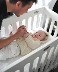 Great collection of mini cribs and bassinets for urban spaces