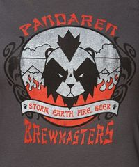World of Warcraft Pandaren Brewmaster Women's Tee