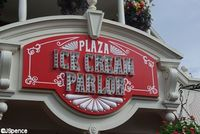 Plazza Ice Cream on Main St in the Magic Kingdom