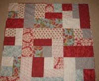 Buttonberry Stashbuster quilt