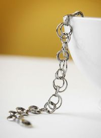 Chainmaille mobius Bracelet stainless steel