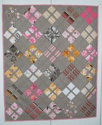 Daisy Baby Quilt - Love this.