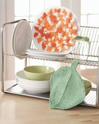Add a beautiful flower to your kitchen decor to lighten the mood.